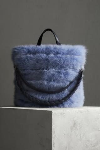 Fur Bag in Fox and Mink