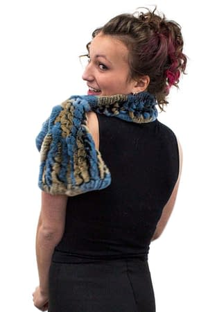 Rex Rabbit Knitted Scarf