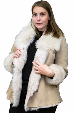 Shearling Jacket with Toscana Trim