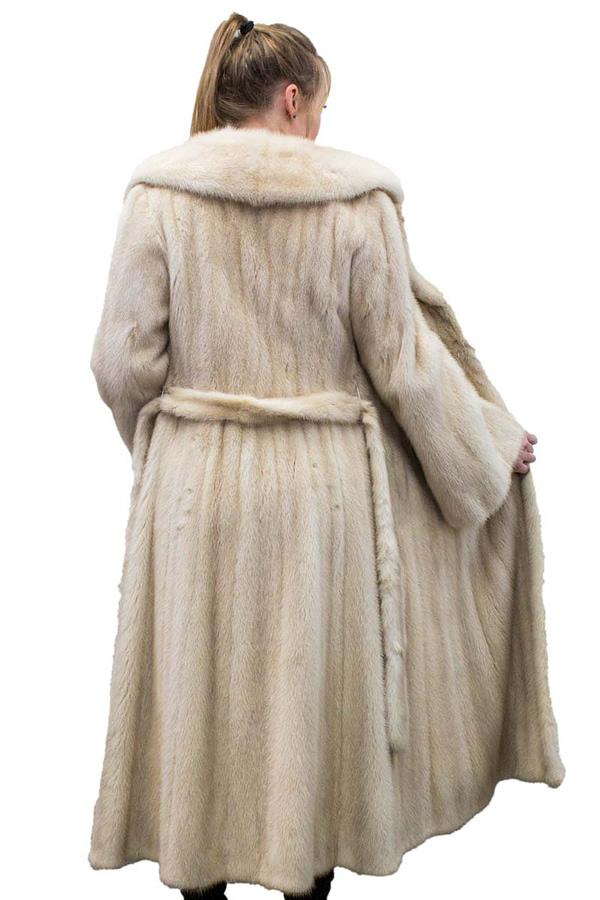 Vintage Pearl Mink Coat